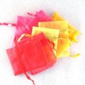 Smyckepåsar blandade färger 5 st