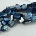 Cattlehead pärlor 8mm, Royalblue